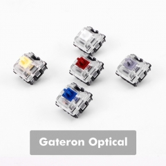 Gateron Optical  Switch DIY Replaceable Switches for Mechanical Gaming Keyboard (10 PCS) (Multiple)